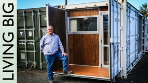 Boat Builder's Incredible 20ft Shipping Container Home