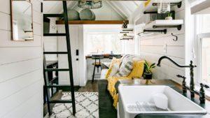 Úžasný krásný Útulný domov Casita Retreat Tiny Home Životní Design Pro Malý Dům