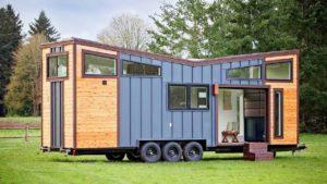 Úžasný krásný dům Breezeway Tiny Heirloom | Životní Design Pro Malý Dům