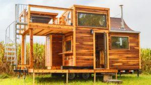Úžasný krásný med na skalním domečku - usa   Životní Design Pro Malý Dům