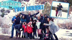 Útěk z malého domu První lyžařský výlet (vždy!) Seznamte se s rodinou!