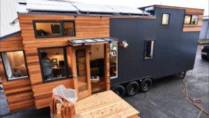 Útulný útulný městský Payette 28 Tiny House od Truform Tiny Le Tuan Home Design