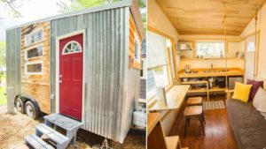 Útulný krásný dům Boulder Tiny House (133 Sq Ft) | Životní Design Pro Malý Dům