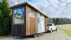 Útulný krásný malý domek s postelí s výtahem Životní Design Pro Malý Dům