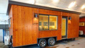 Útulný podpis Boho Tiny House na kolech od ESCAPE   Životní Design Pro Malý Dům