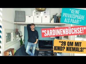 ➤ 28 m2 sardinek může ☻ 0 soukromí jako pár ☻ Tiny House předsudky I Tiny House Germany