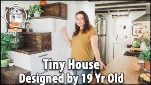 19 let starý TINY HOUSE poskytuje její bezpečnost po škole