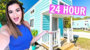 24 hodin v TINY HOUSE výzvě !!