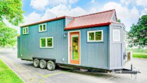 Absolutně nádherný dům klidu, moderním drobným životem Krásný malý dům