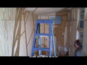 BIGHEART Tiny House Co. Time Lapse Build - část 6