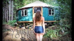 CELÝ ROK Drobný dům v lese - Living Off Grid - Ep. 50