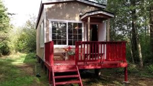 Country Park Model Tiny Home by Pint Sized Home
