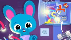 Cute & Tiny House Fix - Mini Home Repair & Cleanup - Cartoon hry pro děti k hraní