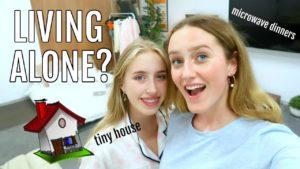 Dospívající zkuste žít sám! - PŘEHLED v malém domě! * 3:00, vyděšený *