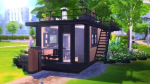 ECO MODERN TINY HOUSE    The Sims 4: Speed Build
