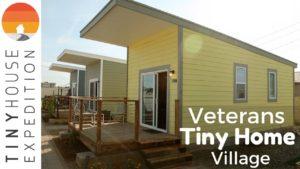 First-Ever Veteran's Tiny House Community ve Phoenixu