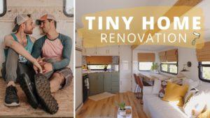 Gay pár staví nádherný TINY HOUSE | RV Renovace!