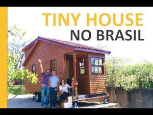 Genu Opravdu brazilský malý domeček - TEASER na mini chalupě na kolech - holé nohy