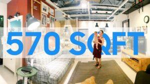 IKEA & # 39; S 570 SQFT Malý dům pro rodinu 4!?!