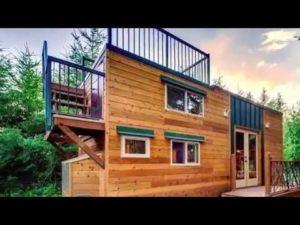 Interiérový design malého domu Basecamp