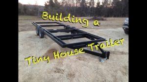 Jak postavit přívěs Tiny House od nuly