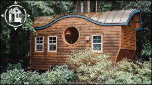 Jeho řemeslník TINY HOUSE w / Reclaimed Wood & Copper Roof