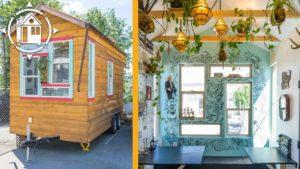 Její Funky Tiny House se zdvojnásobí jako mobilní podnikání