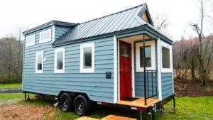 Krásná vypadající skleněná chalupa malý dům mimo Asheville | Životní Design Pro Malý Dům