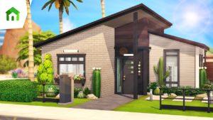 LUXUSNÍ DĚTSKÝ DŮM 🎍   The Sims 4: Tiny Living   Rychlost sestavení