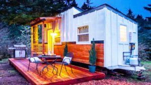 Luxusní MJ's Stylový a útulný vinný motiv Tiny House… My Tiny Wine Wagon
