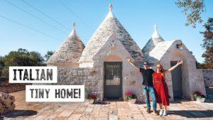 Luxusní TINY HOUSE v jižní Itálii! - Tradiční Trullo Tour a Alberobello (Puglia)