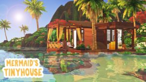 Malý dům mořské panny 🧜♀️ || The Sims 4 Tiny Living: Speed Build