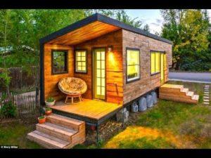 Malý dům postavený od nuly za 11 000 dolarů architektem, 27, který se chtěl vyhnout hypotéce