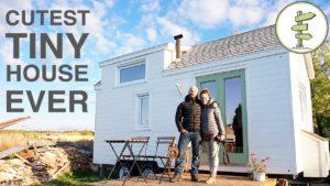 Malý dům s neuvěřitelným designem interiéru postavený za 40 dní!