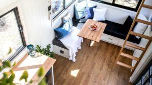 Malý domek o velikosti 17,2 m2 - nápady na životní styl 7200DL / návrhy interiérů