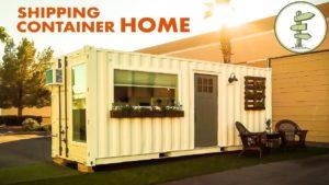 Minimalistický 20ft přepravní kontejner malý dům za $ 39K - plná prohlídka