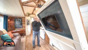 Nádherný malý domeček s 5 koly s Murphy Bed & Two Slides Vestavěný
