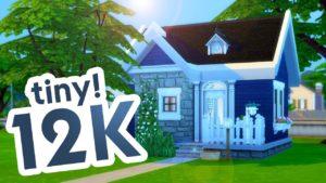 NEPOSKYTOVATELNÝ TINY HOUSE CHALLENGE // Sims 4 Speed Build