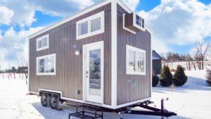 Naprosto nádherný dům CocoaTiny moderním drobným životem Krásný malý dům