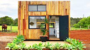 Nejkrásnější dům Cube Tiny House od Little Byrona, byl to jeden z největších nápadů, které jsem kdy viděl