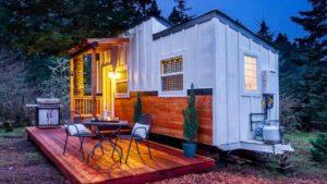 Nový, stylový a útulný malý dům s motivem vína Životní Design Pro Malý Dům