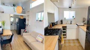 Ohromující krásný malý dům na kolech 28 & # 39; | Životní Design Pro Malý Dům