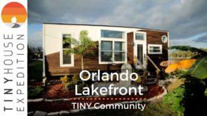 Orlando je prosperující Lakefront Tiny Home Community with Gorgeous Rentals