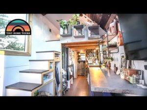 Pár staví ohromující domácí kutilství - vítězný design Tiny House Expo