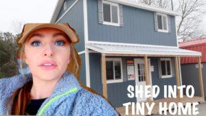 Převeďte boudu na malý domov pro CHEAP!