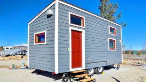Připraven k nastěhování zařízený Tumbleweed Tiny House   Životní Design Pro Malý Dům