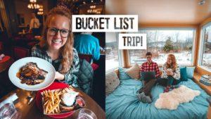 Perfektní den v Hudson Valley! - INCREDIBLE Off Grid Tiny Home & Delicious Food Tour!