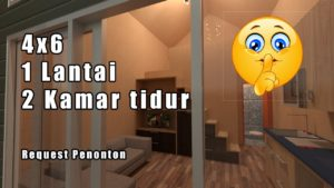 Prodej rodinného domu se 2 ložnicemi v Tiny House, Tiny House Indonesia