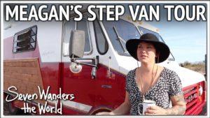 Prohlídka Meagan's Step Van Tiny House | trojice E503