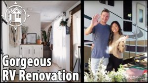Renovovaný RV je jejich krásný malý domov + cystická fibróza